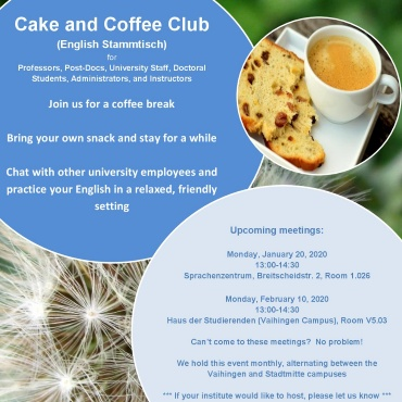 A3-Plakat: Cake and Coffee Club (Termine in 2020) A3-Plakat: Cake and Coffee Club (Termine in 2020)